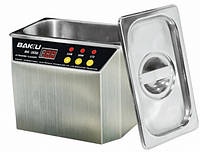 Ультразвуковая ванна BAKKU BK3550 Два режима работы (30W и 50W), металлический корпус, металлическая