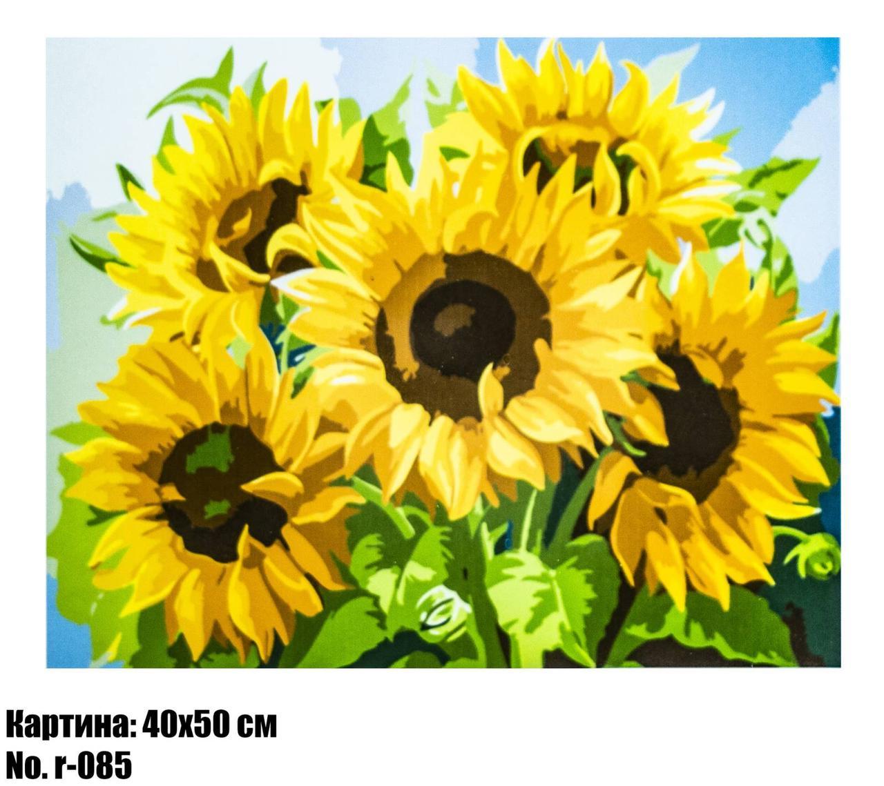 Картина по номерам R085 40 х 50 см