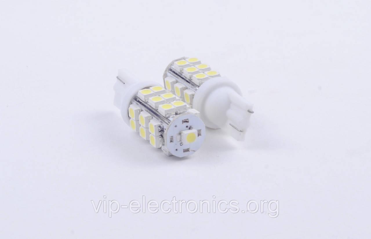 Світлодіодна автолампа для цоколя T10-1210-25SMD