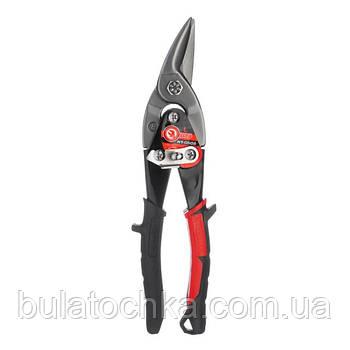 Ножницы по металлу 250мм левые Cr-Mo INTERTOOL NT-0502