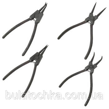 Набор щипцов для снятия и установки стопорных колец INTERTOOL HT-7001