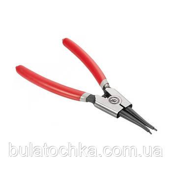 Щипцы для снятия и установки стопорных колец прямые на разжим INTERTOOL HT-7007