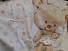 """Комплект в дитяче ліжечко з бязі голд """"Ведмедики """", фото 2"""