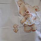 """Комплект в дитяче ліжечко з бязі голд """"Ведмедики """", фото 3"""