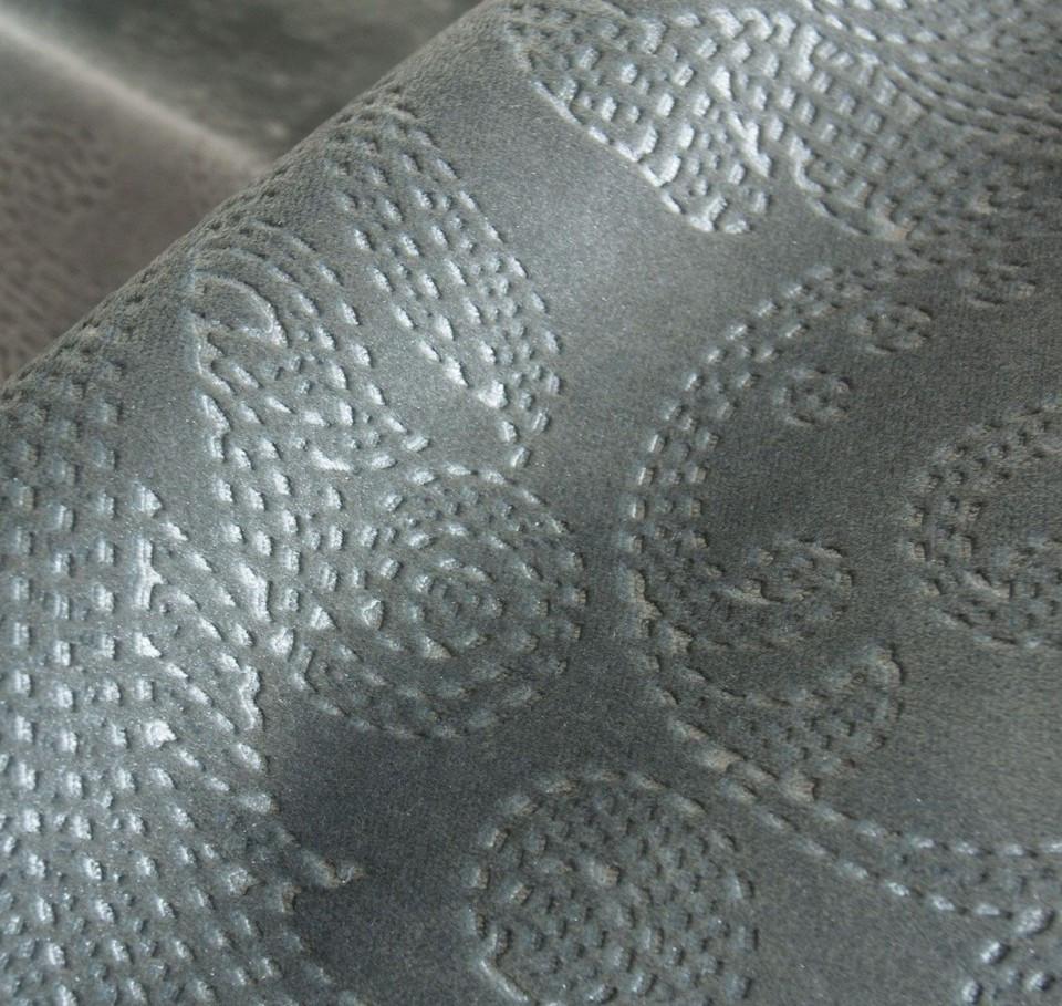 Мебельная ткань велюр однотонный GLANCE FLOWER