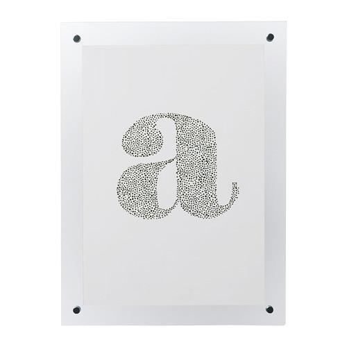 ИКЕА (IKEA) FORNBRO, 004.231.13, Рама, прозрачный, 21x30 см - ТОП ПРОДАЖ