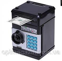 Скарбничка сейф з кодовим замком і купюропріємником Piggy Bank SAFE, фото 2