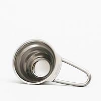 Кофейная мерная  ложка серебристая Hario V60