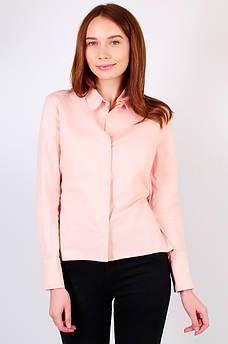 Рубашка женская розовая AAA 122054M