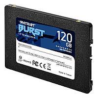"""Некондиция: Накопитель SSD 2.5"""" 120GB Patriot Burst (PBU120GS25SSDR) R560MBs W540MBs SATA III 7мм новый"""