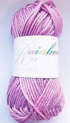 Пряжа   Rainbow  25г/40м  пурпурно-розовый