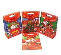 """Пакет подарочный """"Новый год"""" картон  (27х20 см)"""