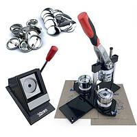 Комплект оборудования для изготовления значков 32 мм (6744)
