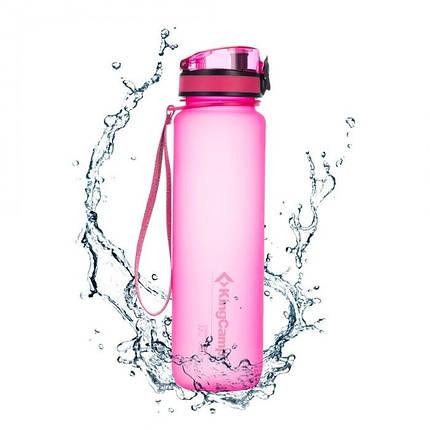 Бутылка для воды KingCamp Tritan Bottle 1000ML(pink), фото 2