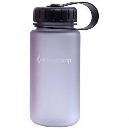 Бутылка для воды KingCamp Tritan Bottle 400ML(MEDIUM GRAY), фото 2
