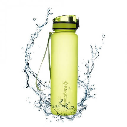 Бутылка для воды KingCamp Tritan Straw Bottle 500ML (light green), фото 2