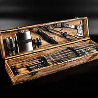 """Подарочный набор шампуров из нержавеющей стали """"Охотничий"""", 25 предметов"""