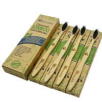 Зубная щетка бамбуковая Zhealth bamboo набор 4 шт (ZT-1)