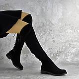 Ботфорты женские черные Bullseye 2338 Размер 40 - 25,5 см, фото 2
