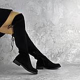 Ботфорты женские черные Bullseye 2338 Размер 40 - 25,5 см, фото 3