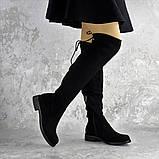 Ботфорты женские черные Bullseye 2338 Размер 40 - 25,5 см, фото 4