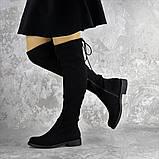 Ботфорты женские черные Bullseye 2338 Размер 40 - 25,5 см, фото 5
