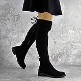 Ботфорты женские черные Bullseye 2338 Размер 40 - 25,5 см, фото 6
