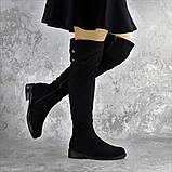 Ботфорты женские черные Clementine 2343 Размер 36 - 23,5 см, фото 3