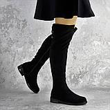 Ботфорты женские черные Clementine 2343 Размер 36 - 23,5 см, фото 5