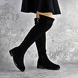 Ботфорты женские черные Clementine 2343 Размер 36 - 23,5 см, фото 9