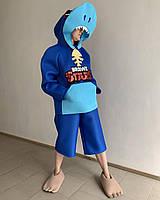 Карнавальный костюм ЛЕОНА АКУЛА (BRAWL STARS) / BL - ВМ300