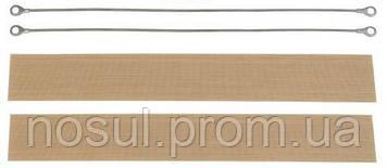 Рем.комплект для запайщика импульсного 400 мм (макс. 440мм) струна + тефлон Impulse Sealer