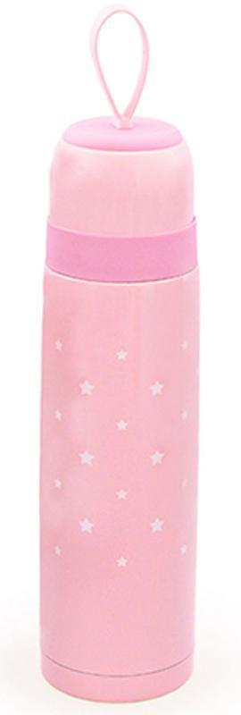 Термос Fissman Stars 500мл розовый