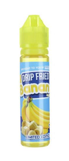 Жидкость для электронных сигарет Twist Drip Fried Banana 3 мг 60 мл