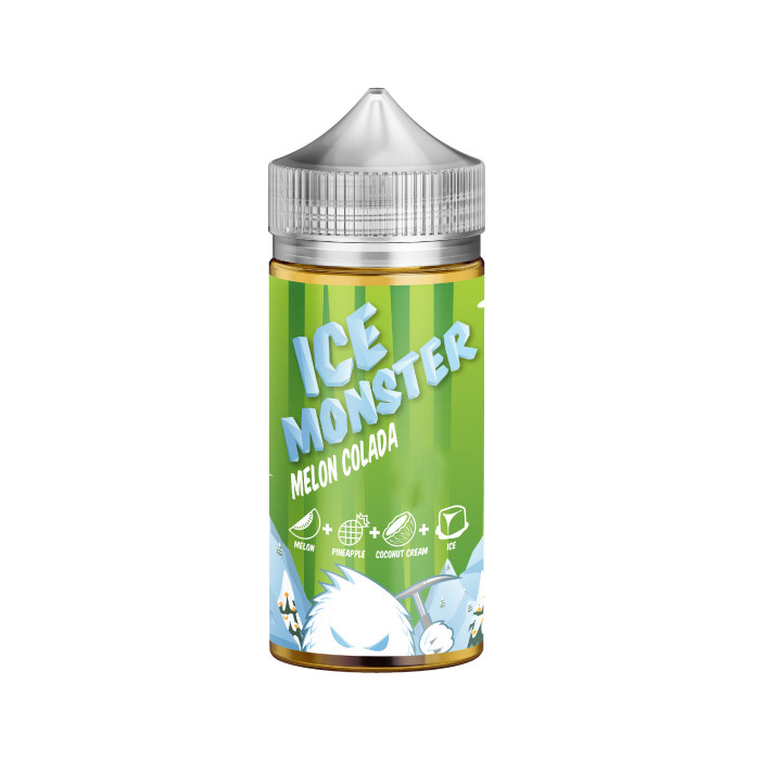 Жидкость для электронных сигарет Jam Monster Melon Colada Ice 3 мг 100 мл