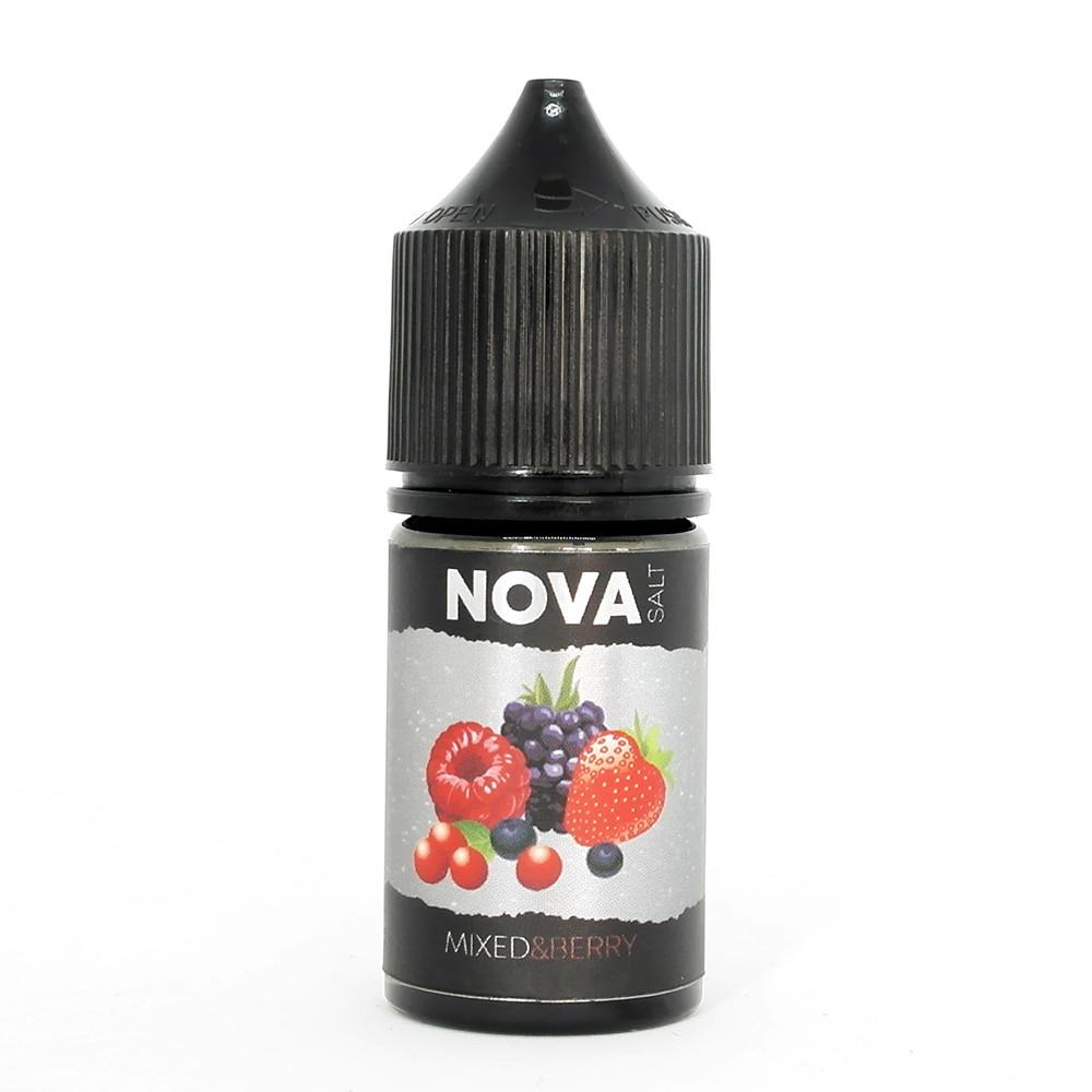 Жидкость для электронных сигарет NOVA Salt Mixed Berry 50 мг 30 мл