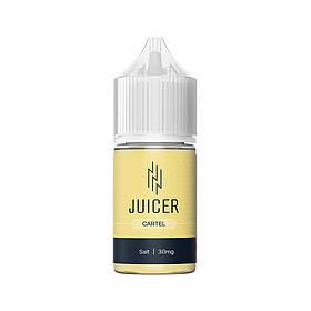 Жидкость для электронных сигарет Juicer Salt Cartel 30 мг 30 мл