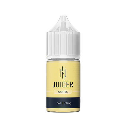 Жидкость для электронных сигарет Juicer Salt Cartel 50 мг 30 мл, фото 2