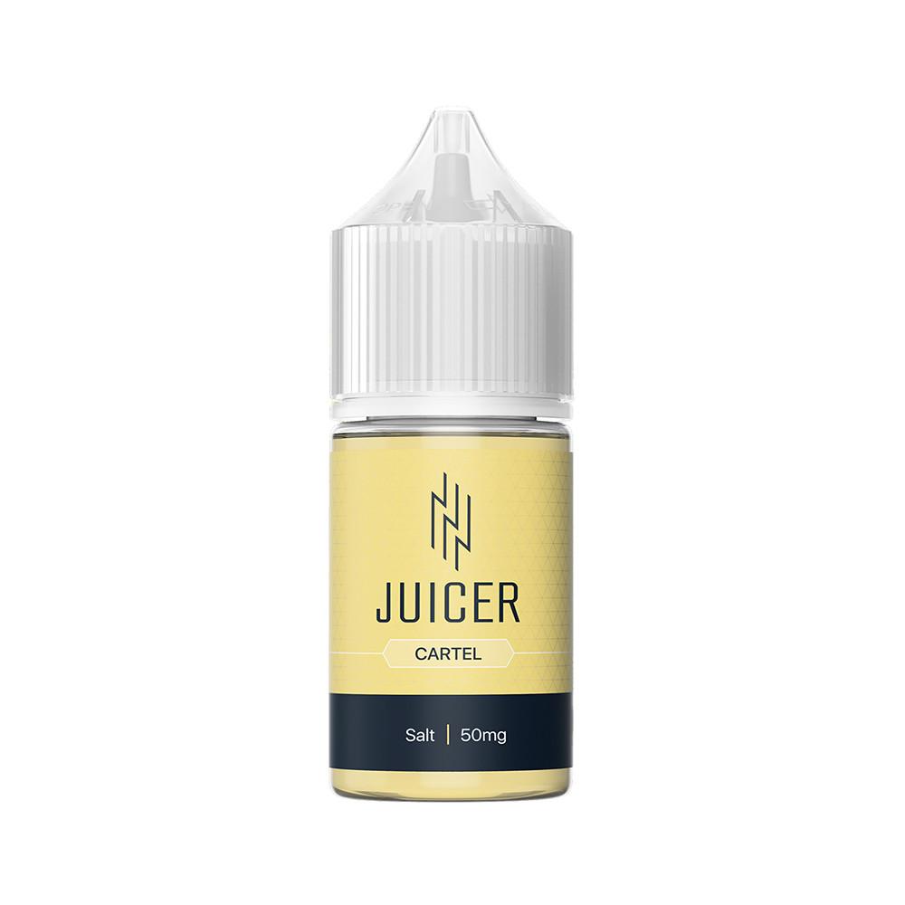 Жидкость для электронных сигарет Juicer Salt Cartel 50 мг 30 мл