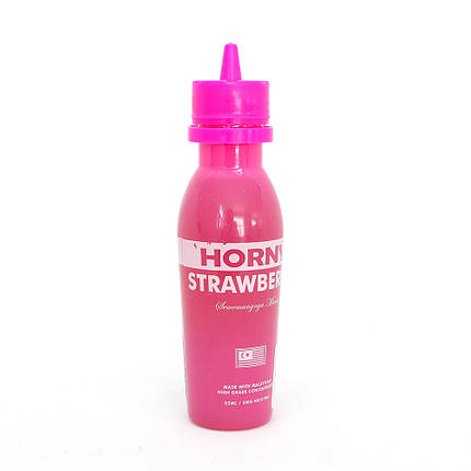 Жидкость для электронных сигарет Horny Strawberry 3 мг 65 мл, фото 2