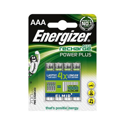 Аккумулятор Energizer Recharge Power Plus 700 мАч блистер 4 шт, фото 2