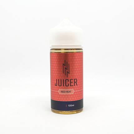 Жидкость для электронных сигарет Juicer Red Heat 3 мг 100 мл, фото 2