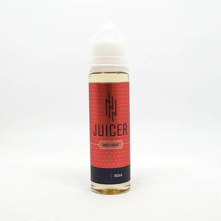 Жидкость для электронных сигарет Juicer Red Heat 0 мг 60 мл, фото 2