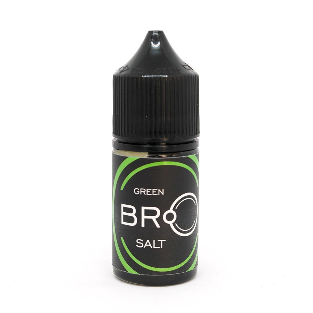 Жидкость для электронных сигарет Nolimit BRO Salt Green 30 мг 30 мл