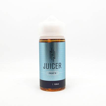 Жидкость для электронных сигарет Juicer Frost B 3 мг 100 мл, фото 2