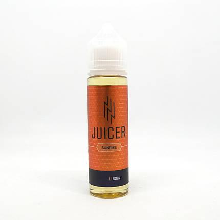 Жидкость для электронных сигарет Juicer Sunrise 1.5 мг 60 мл, фото 2