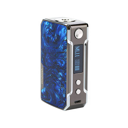 Батарейный мод Voopoo Drag Mini 117W Platinum Prussian Blue, фото 2