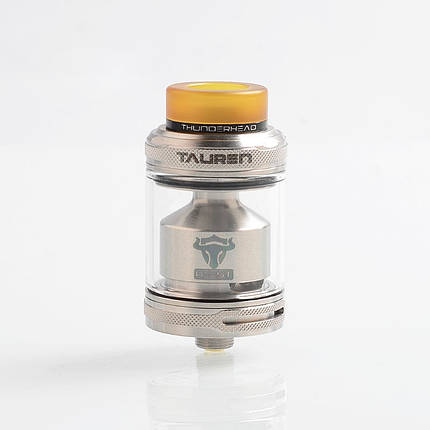 Атомайзер THC Tauren RTA Silver, фото 2