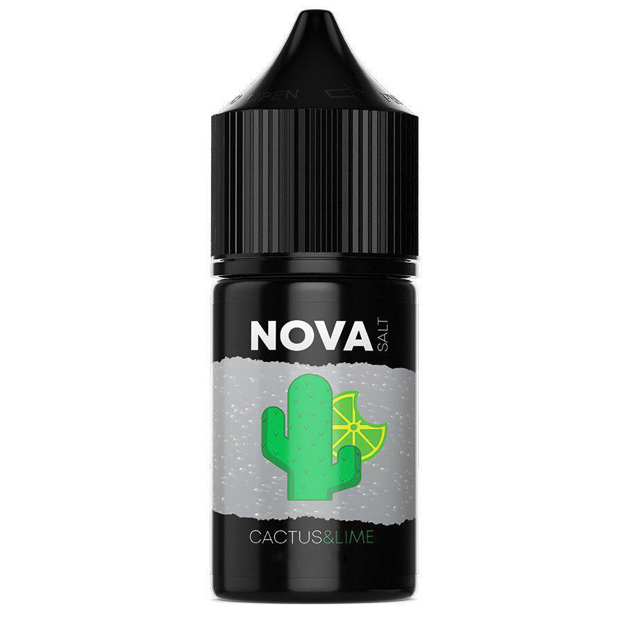 Жидкость для электронных сигарет NOVA Salt Cactus Lime 25 мг 30 мл