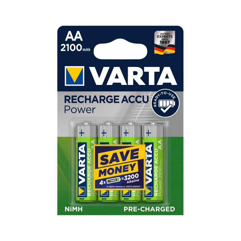Аккумулятор Varta R2U 56706 2100 мАч блистер 4 шт